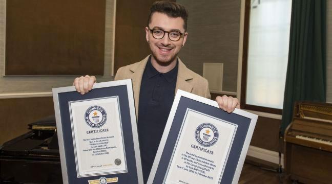 Sam Smith Guinness Records