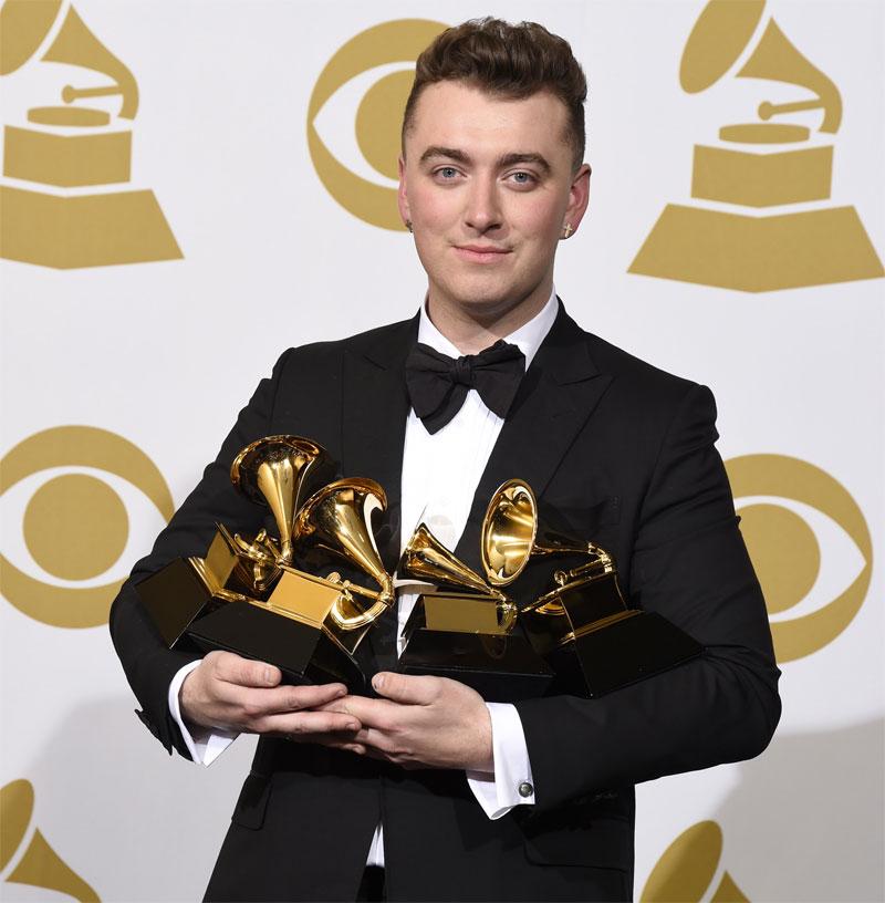 Sam SMith Grammys