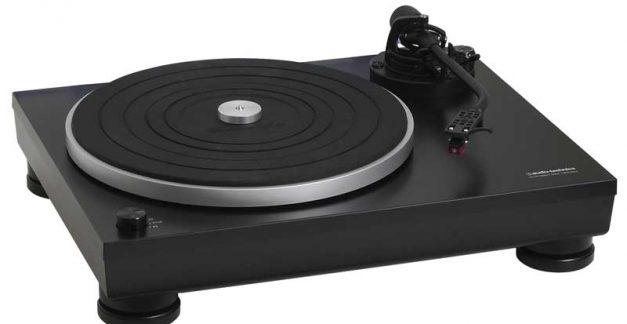 Review: Spin the black circle AT-LP5