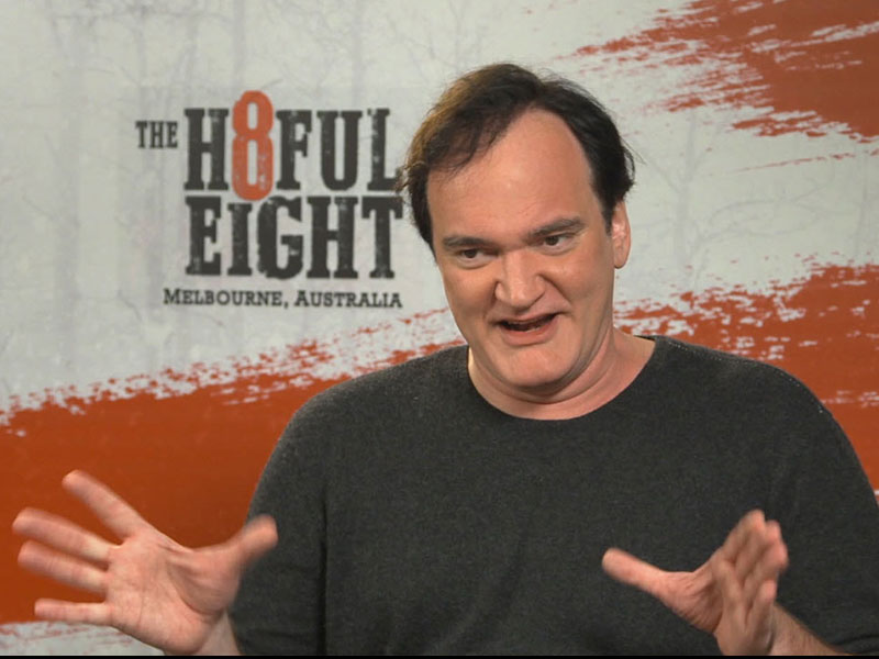 Quentin Tarantino interview: The Hateful Eight