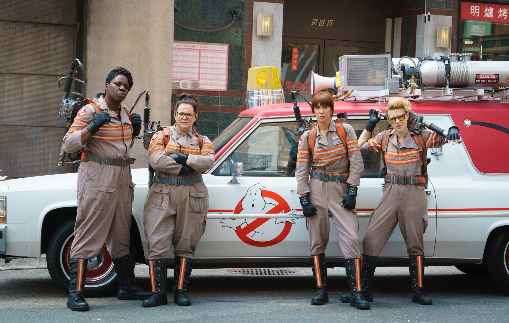 5 things we learned from the new Ghostbusters