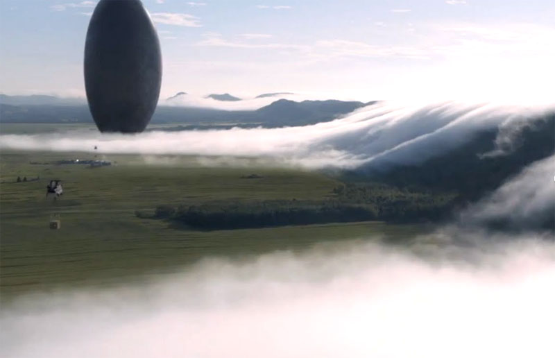 First trailer for Arrival arrives