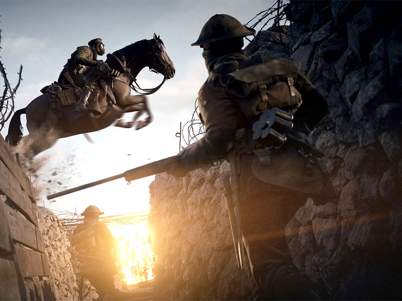 The Battlefield 1 Gamescom trailer looks insane