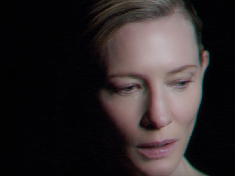 Cate Blanchett stars in new Massive Attack video