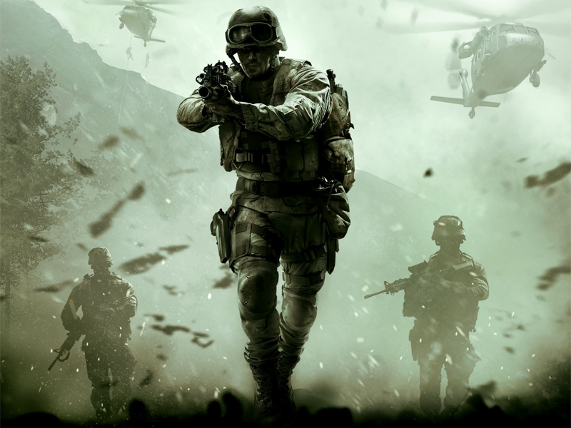 Moment in time – Modern Warfare comes to life