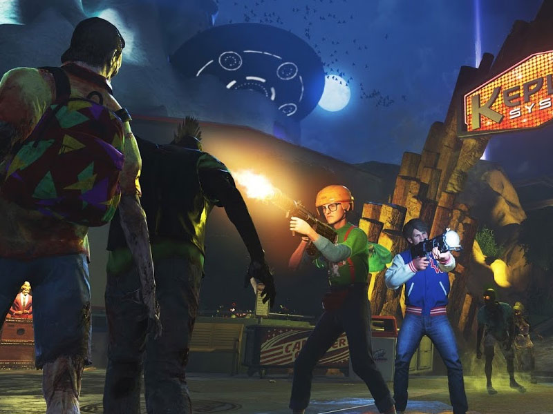 CoD Zombies – in space!