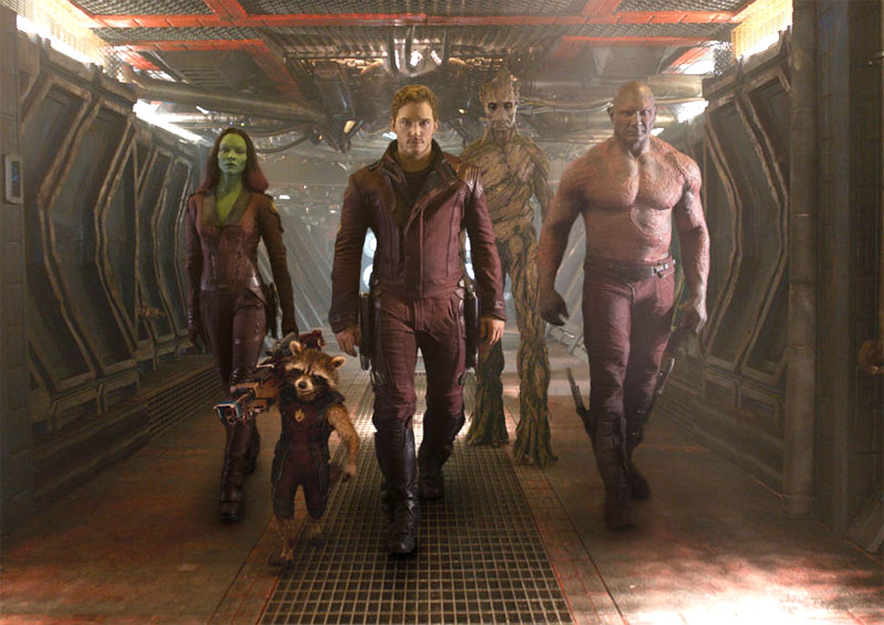 Guardians of the Galaxy in next Avengers flick
