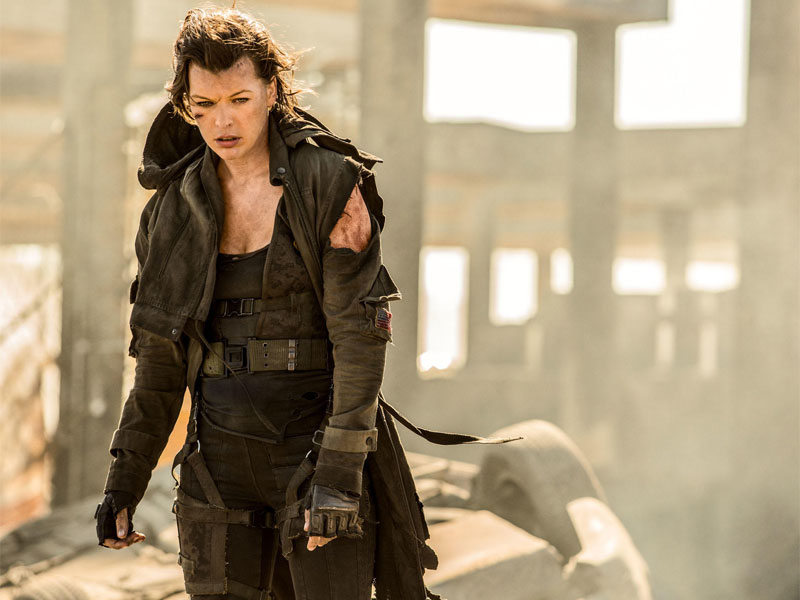 First trailer for Resident Evil's final chapter
