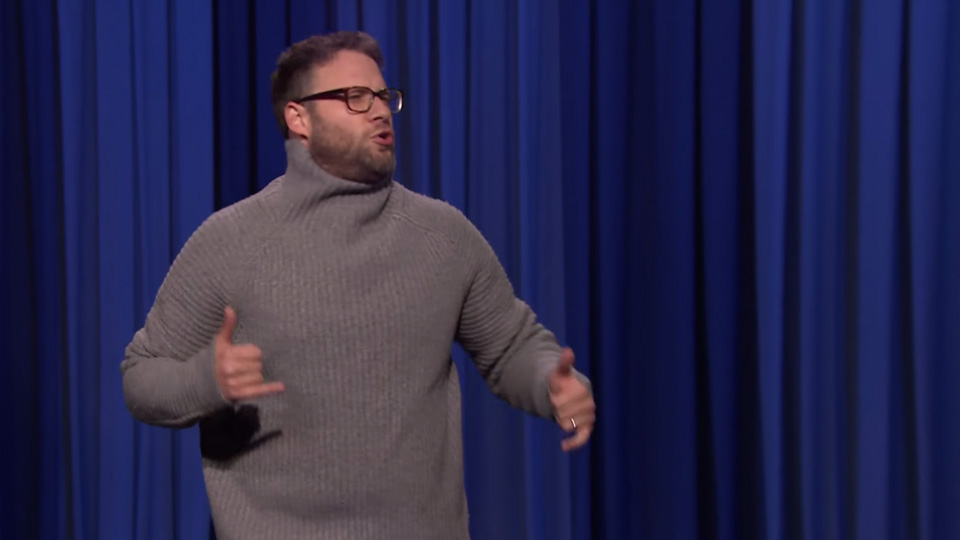 Watch Seth Rogen absolutely tear up Jimmy Fallon in a lip sync battle