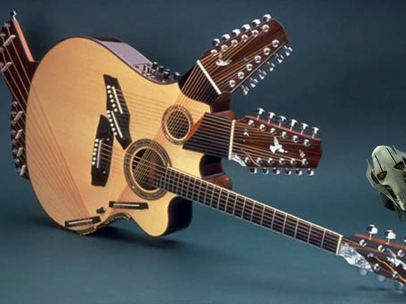 8 weird guitars and who should play them