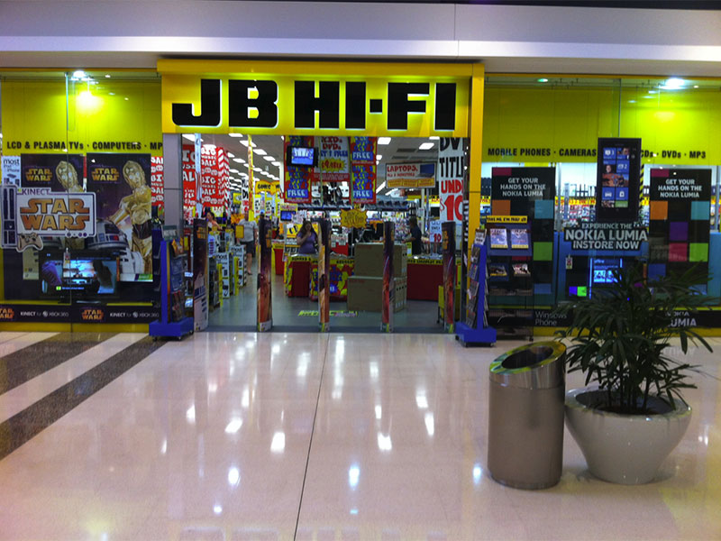 JB Hi-Fi – Don't Stop Believin' – Physical Ain't Dead