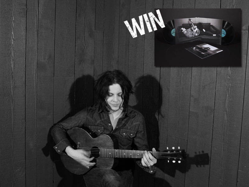 Win a signed copy of Jack White Acoustic Recordings 1998-2016