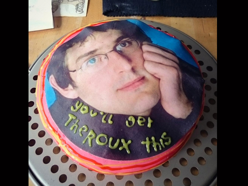 The best Louis Theroux cake you'll see today