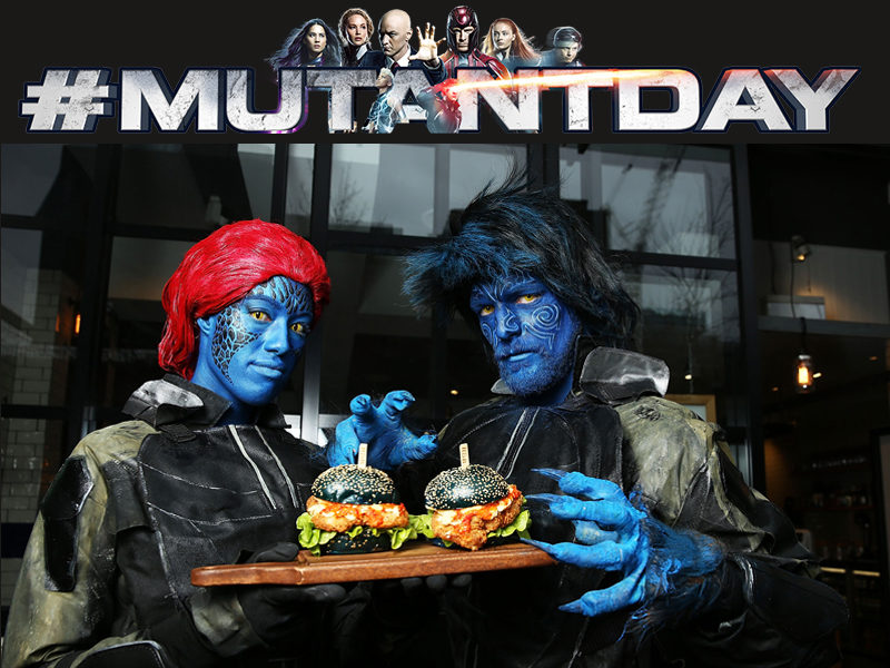 Get yourself a Mutant Burger!
