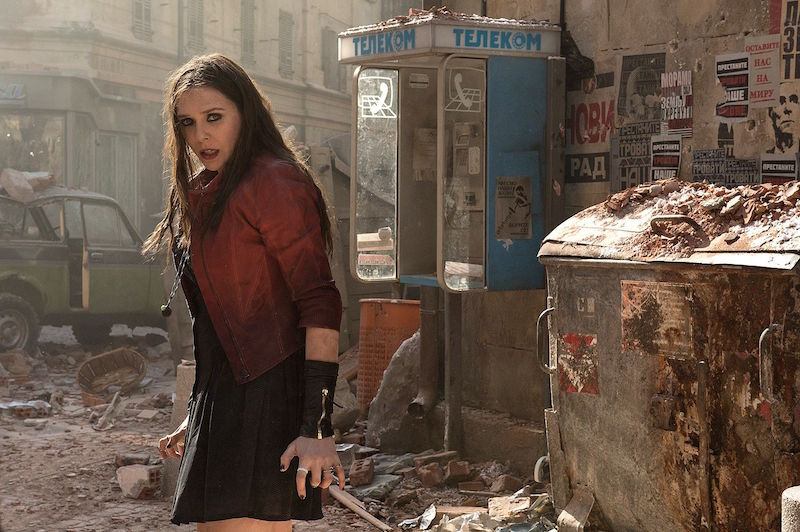 Captain America – Elizabeth Olsen interview