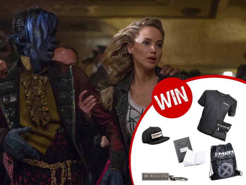 Win an X-Men: Apocalypse merchandise pack