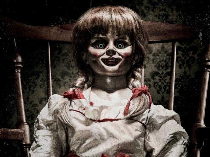 Here's the Announcement trailer for Annabelle 2