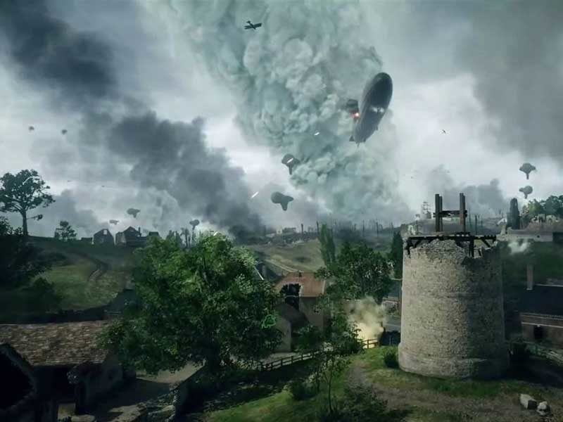 WATCH: stunning new Battlefield 1 single-player trailer