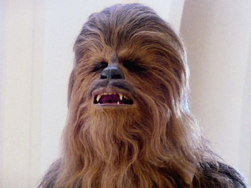 When your mum's kitchen drawer sounds like Chewbacca