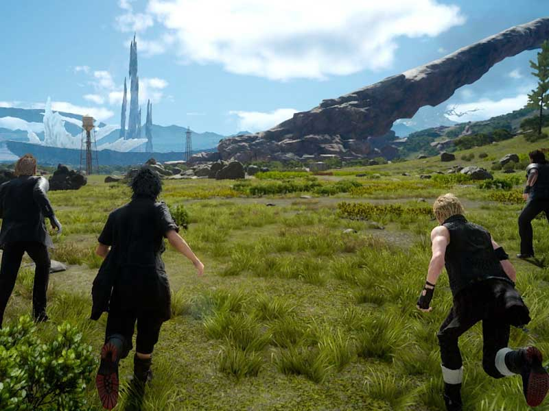 Here's the Final Fantasy XV TGS trailer