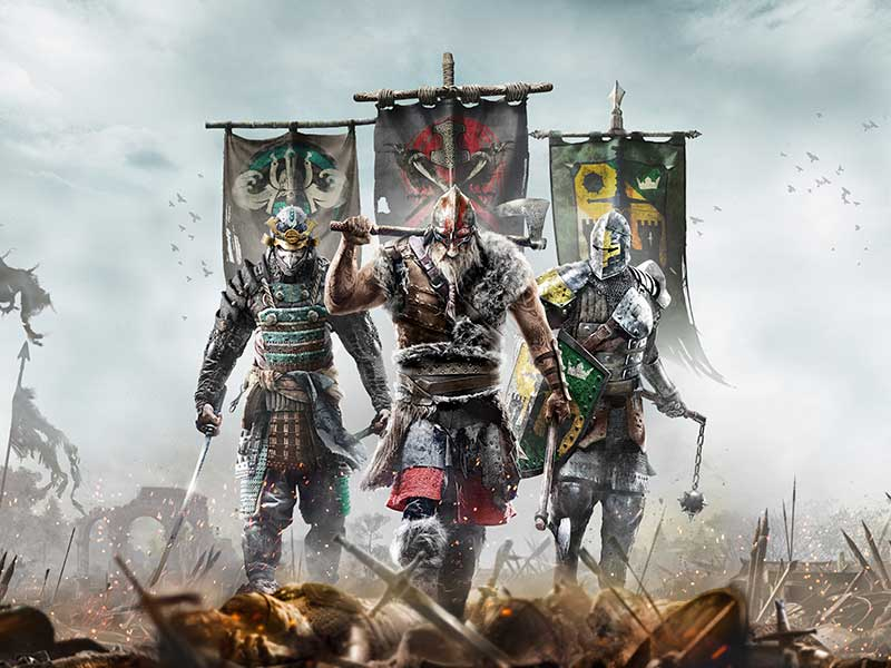 You need to watch these new For Honor trailers