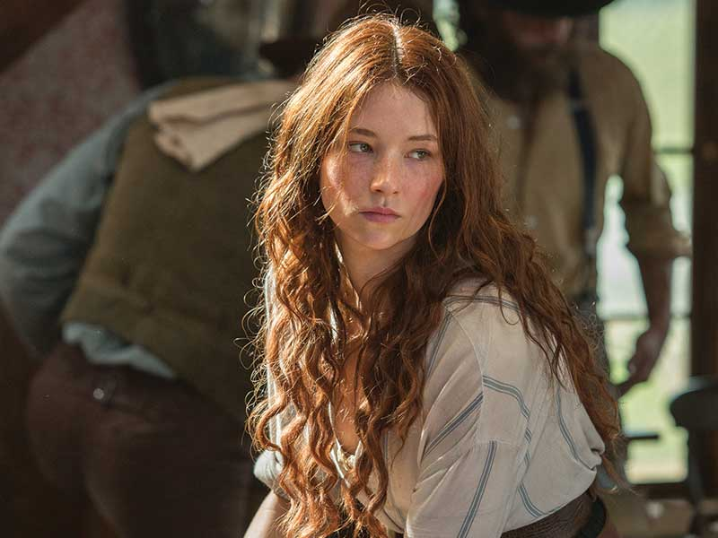 INTERVIEW: Haley Bennett – The Magnificent Seven