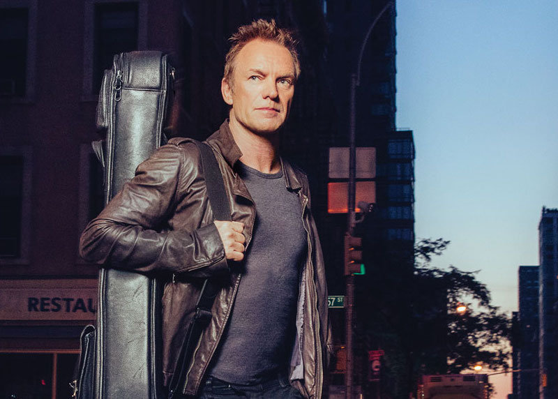 Sting is getting back to his rock roots