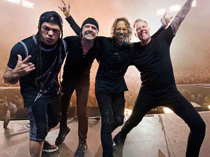 First video from new Metallica album