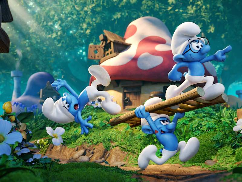 First trailer for new Smurfs movie
