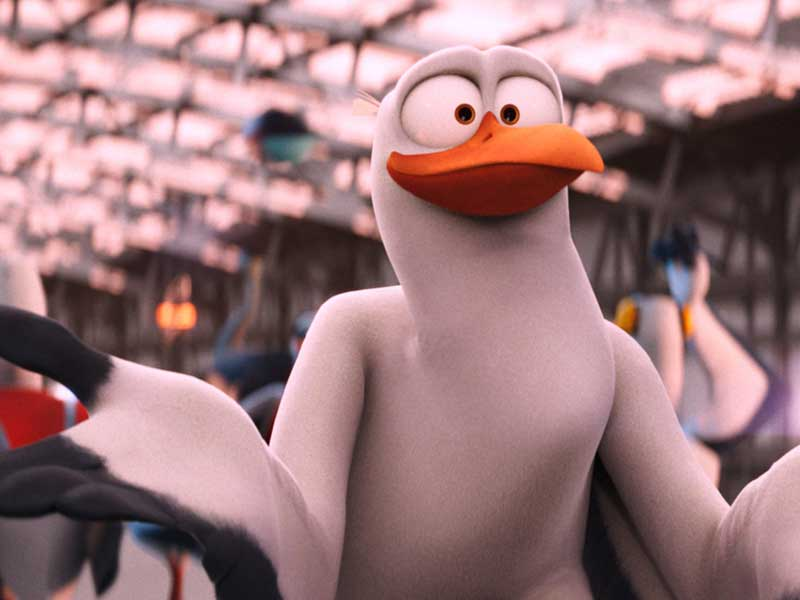 Andy Samberg talks Storks
