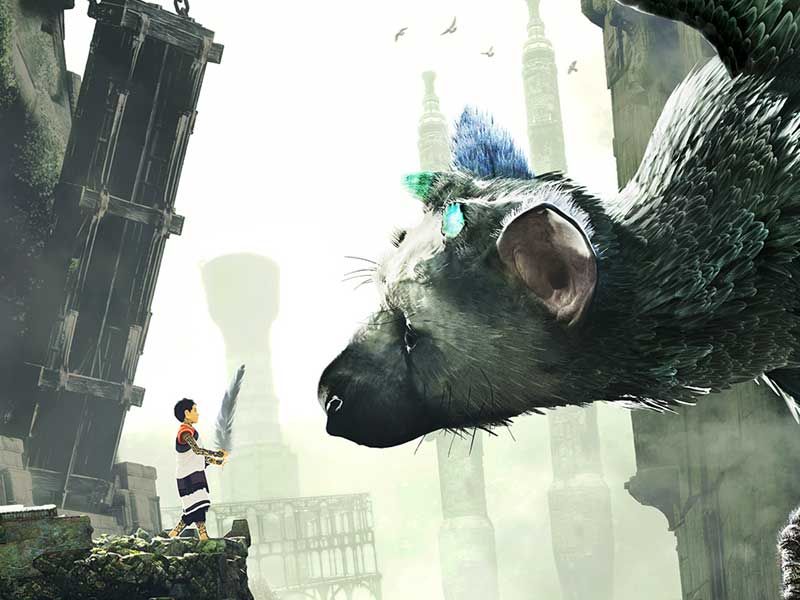 Brighten up your Monday with this CG The Last Guardian trailer