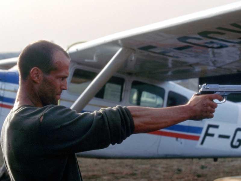 A supercut of Jason Statham kicks