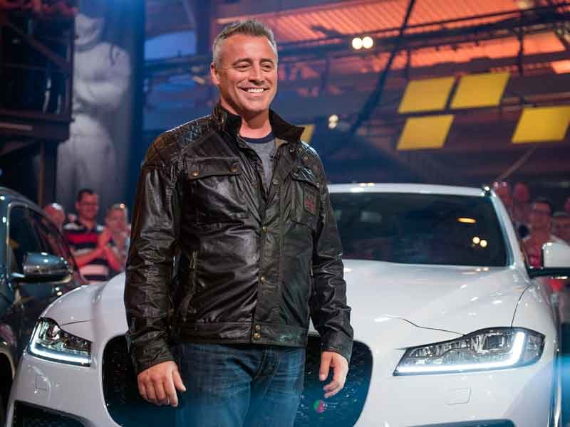 Matt LeBlanc takes charge at Top Gear