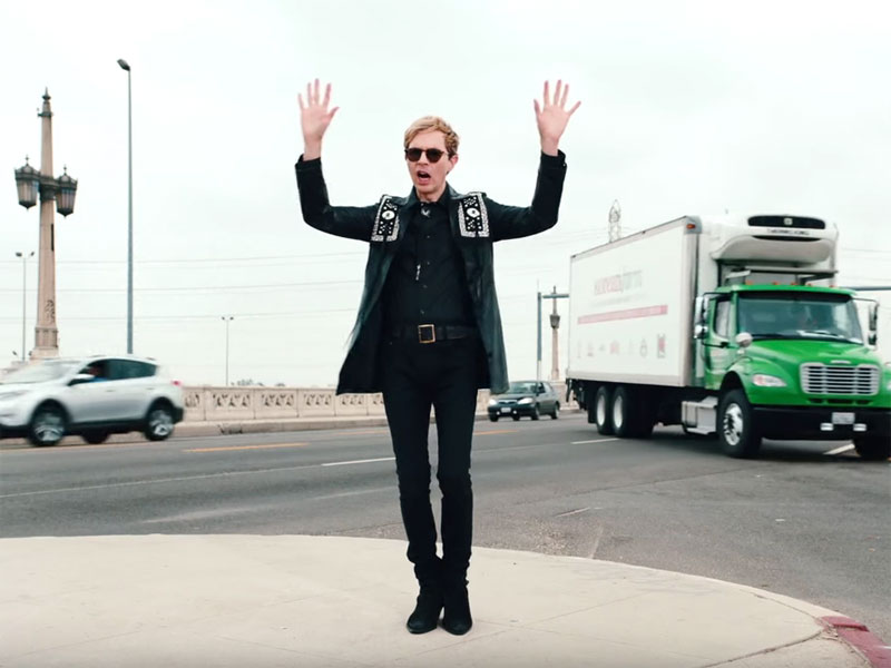 Beck drops 'WOW' video