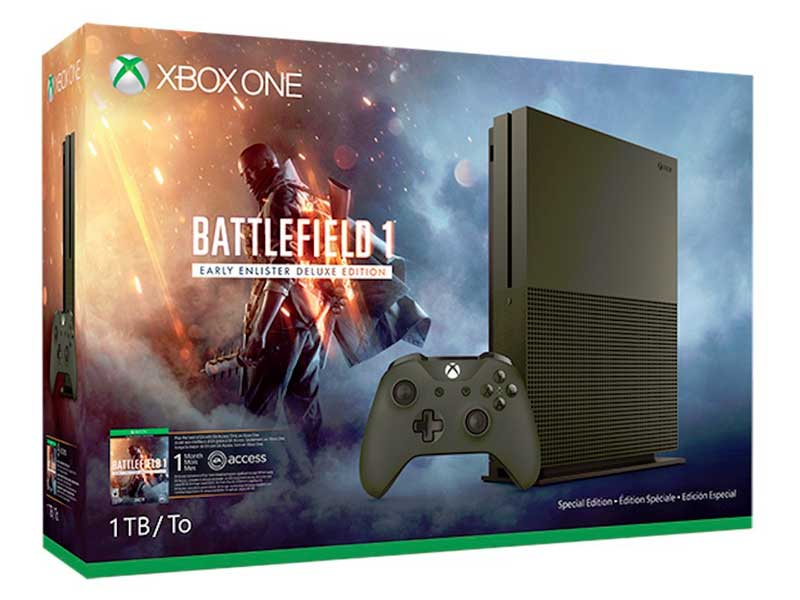 WATCH: The reveal of the limited-edition Battlefield 1 Xbox One S console bundle