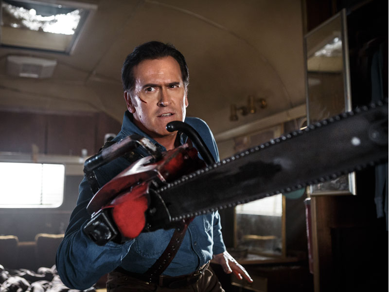 INTERVIEW: Bruce Campbell and Rob Tapert – Ash vs Evil Dead: Season 1