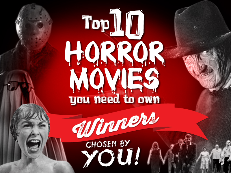The Top 10 Horror Films – as voted by you