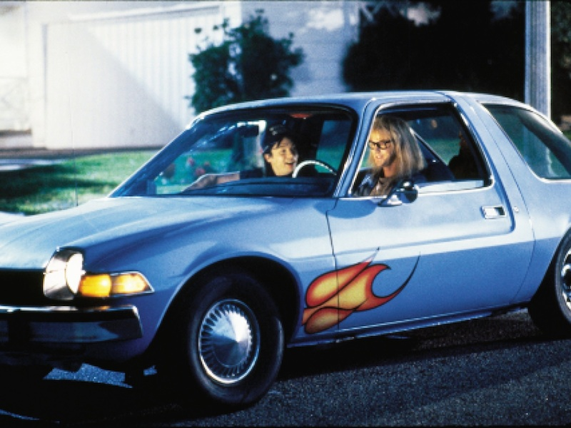 Garth's sky-blue Mirthmobile from Wayne's World is up for auction