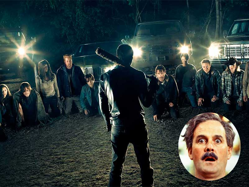 Recap The Walking Dead…With John Cleese?