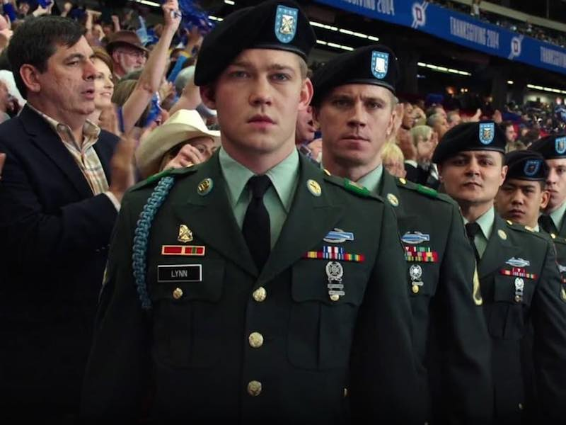 Introducing Ang Lee's new film Billy Lynn's Long Halftime Walk