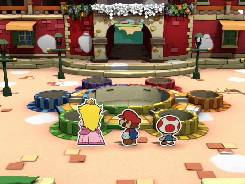 WATCH: new clip from Paper Mario: Color Splash