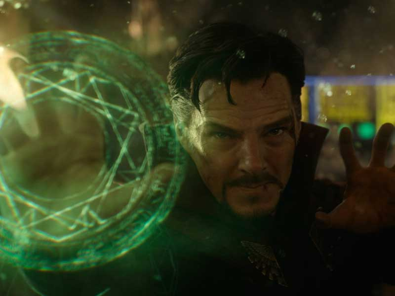 Marvel's Doctor Strange looks as strange as we'd hoped