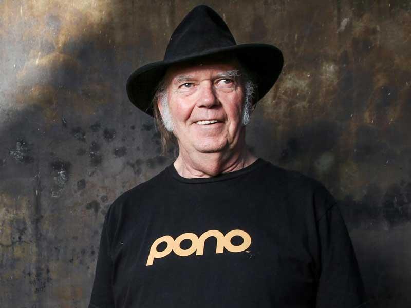Neil Young unveils new LP Peace Trails