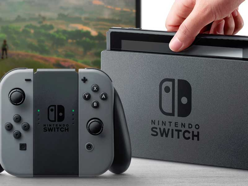 WATCH: here's what's in the Nintendo Switch box