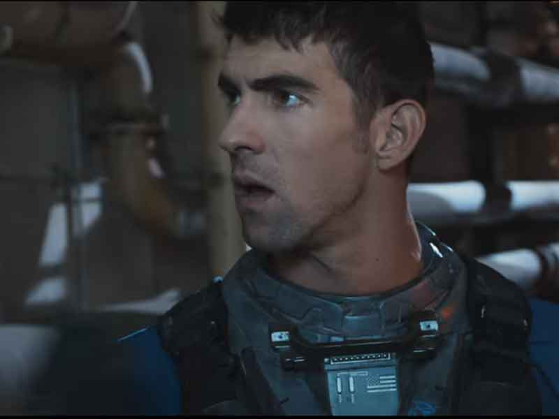 WATCH: this Infinite Warfare trailer features Michael Phelps