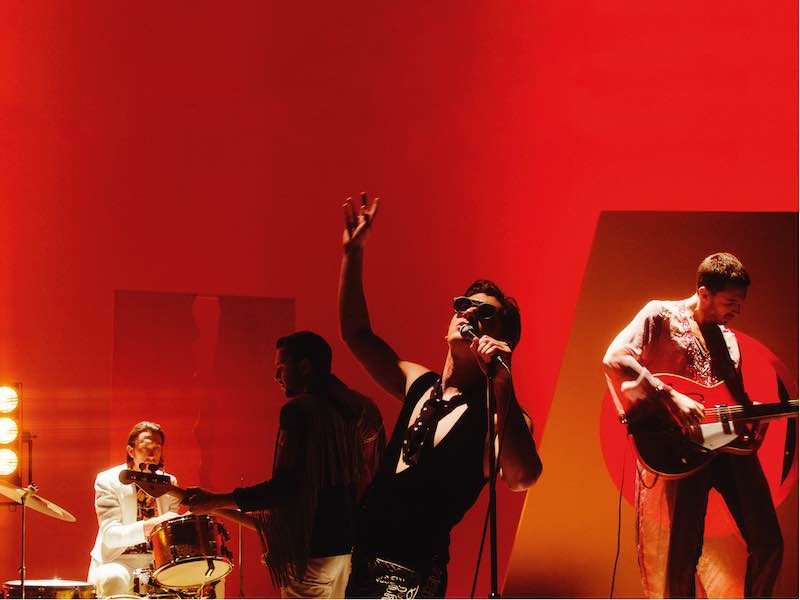 Last Shadow Puppets cover Leonard Cohen, The Fall