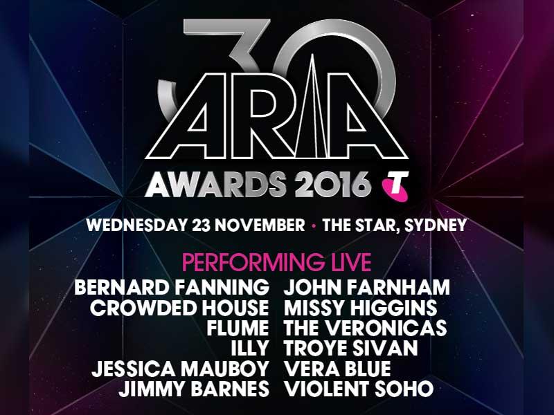 2016 ARIA line-up revealed