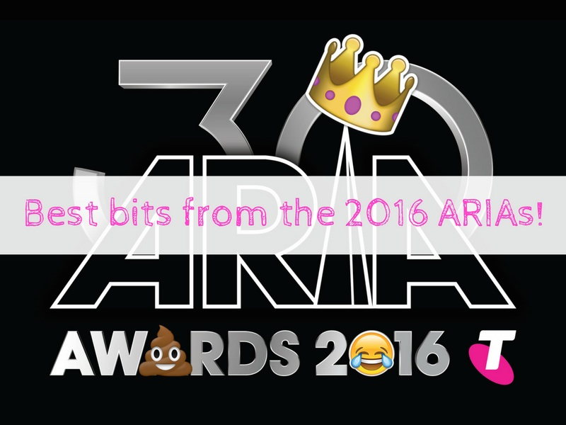 8 best bits of the 2016 ARIA Awards