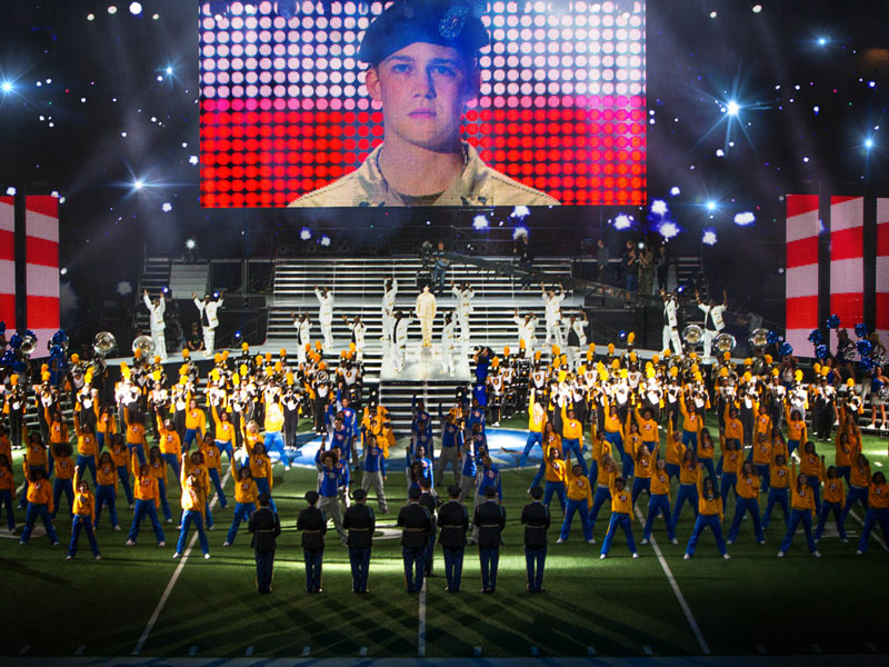Billy Lynn's Long Halftime Walk – review