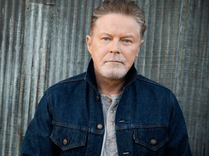 Don Henley flying solo Down Under